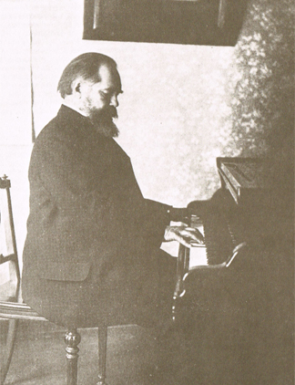 Sergey Taneyev at piano