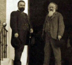 Richard Mühlfeld and Johannes Brahms